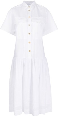 Erika Cavallini Short Sleeved Shirt Dress