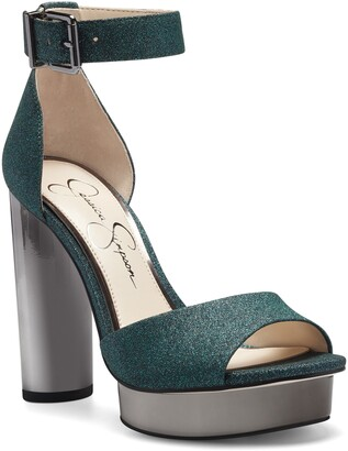 Jessica Simpson Everyn Platform Ankle Strap Sandal