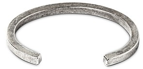 THE MONOTYPE Silver-Plated Brass Tyler Square Cuff Bracelet