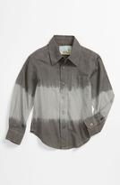 Peek 'Dylan' Dip Dye Shirt (Toddler, Little Boys & Big Boys)