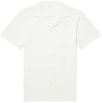 Hamilton And Hare Camp-Collar Cotton-Pique Shirt