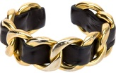 Chanel chunky chain torque bracelet