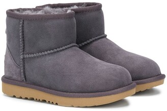 Ugg Kids Shearling Lined Snow Boots