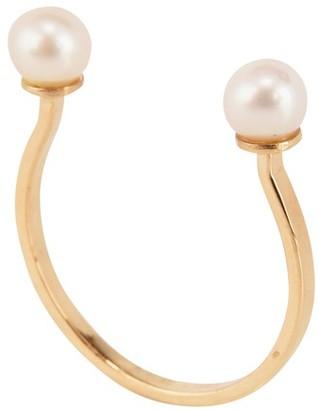 Delfina Delettrez Double pearl ring