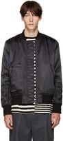 Tim Coppens Black Bomber Jacket