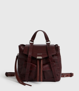 AllSaints Polly Leather Backpack