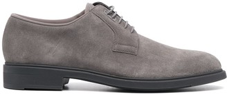 HUGO BOSS textured lace-up Derby shoes