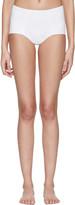 Dolce & Gabbana White High-waisted Bikini Bottoms