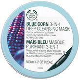 The Body Shop Blue Corn 3 in 1 Deep Cleansing Scrub Mask 3.38 fl oz (100 ml)
