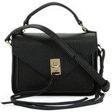 Rebecca Minkoff Darren Mini Leather Messenger Bag, Black