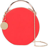 Eddie Borgo chain strap round clutch - women - Leather/metal - One Size