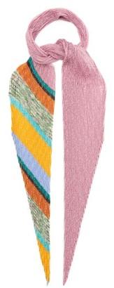 Missoni Striped Ribbed Scarf - Multi
