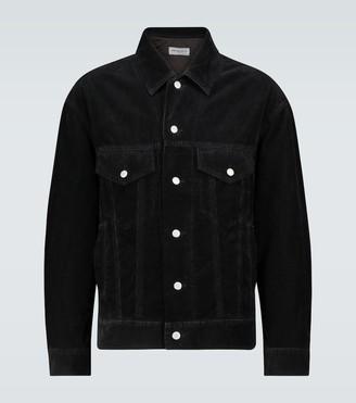 Dries Van Noten Boxy-fit corduroy jacket