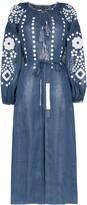Vita Kin Cherry Blossom linen maxi dress