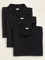 Old Navy 3-Pack Uniform Pique Polo for Women