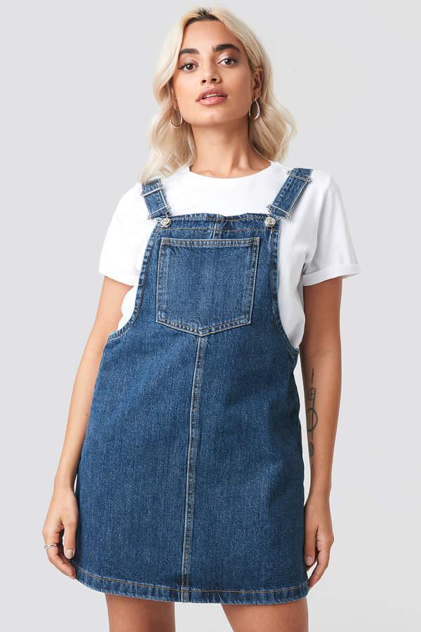 cddc11e70de1e Mango Blue Dress - ShopStyle UK