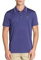 Calvin Klein Contrast-Tipped Polo Shirt
