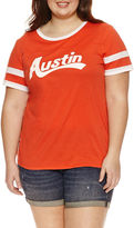 Arizona Austin Graphic T-Shirt- Juniors Plus