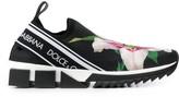 Dolce & Gabbana Lily print Sorrento sneakers