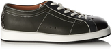 Bottega Veneta Block-colour leather trainers