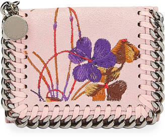 Stella McCartney Falabella Small Embroidered Trifold Wallet