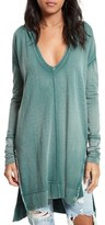 Free People Women's 'Queen Of Hearts' Hooded Tunic