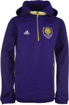adidas Boys' Orlando City SC Travel Hoodie