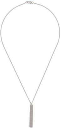 Maison Margiela Numbers Logo Necklace