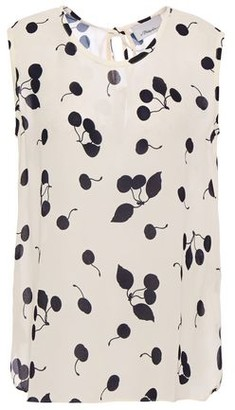 3.1 Phillip Lim Tie-back Printed Crepe Top