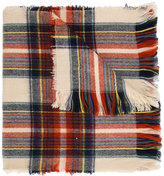 American Outfitters Kids plaid knitted scarf