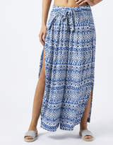 Monsoon Willa Printed Fixed Wrap Trousers
