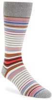 Paul Smith 'Twisted Bright' Stripe Socks