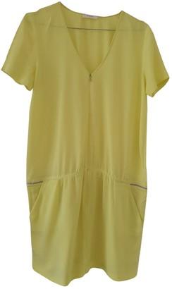 BA&SH Spring Summer 2019 Yellow Polyester Dresses