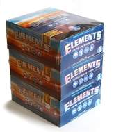 Element 3 boxes Slim King Size ULTRA THIN RICE rolling paper - 150 booklets