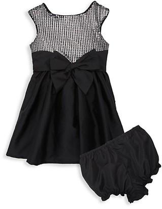 Pippa & Julie Baby Girl's 2-Piece Sequin Dress Bloomers Set