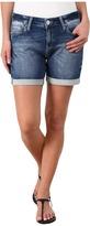 Mavi Jeans Pixie Mid Rise Boyfriend Shorts in Mid Sporty
