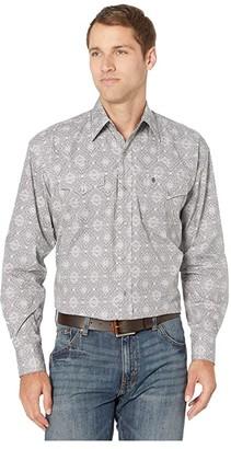 Stetson 9827 Classic Medallion (Grey) Men's Clothing