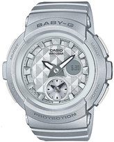 Baby-G Silver Resin Strap Watch