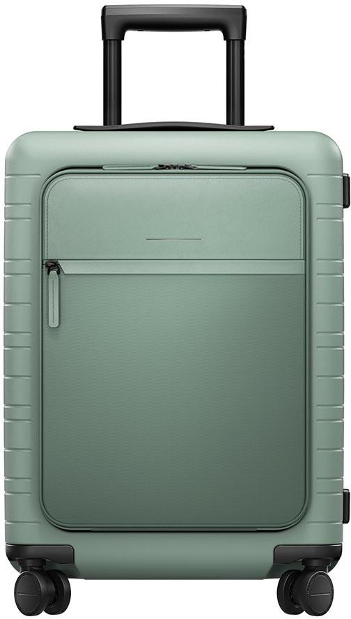 Horizn Studios M5 Smart Hard Shell Cabin Suitcase - Marine Green
