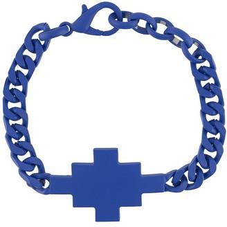 Marcelo Burlon County of Milan Cross chain link bracelet