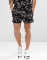 Reclaimed Vintage Printed Shorts