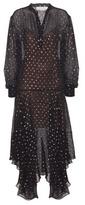 Stella McCartney Marion Silk Chiffon Dress