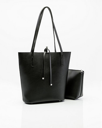 Le Château Faux Leather Tote Bag