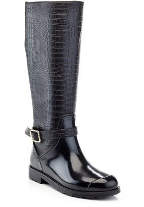Henry Ferrera OMG Women's Snake Pattern Tall Rain Boots