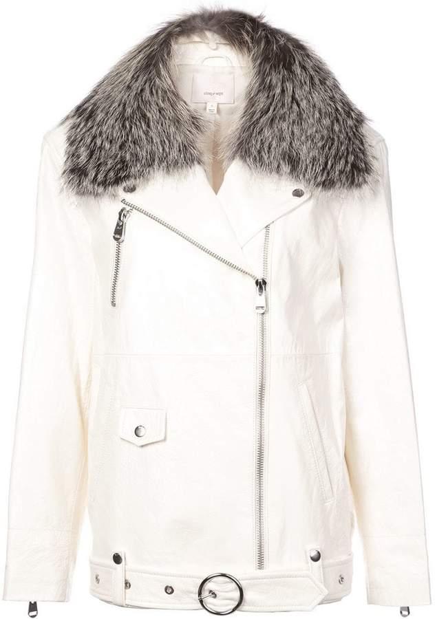 Cinq à Sept loose long-sleeved jacket