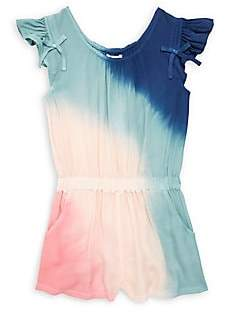 Ella Moss Girl's Tie-Dye Voile Romper