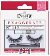 Eylure False Eyelashes Exaggerate No.143 -1 ct