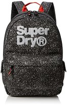 Superdry Blast Montana, Men's Backpack, Nero (Black/reflective), 30.0x45.0x15.0 cm (W x H L)