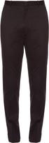 Burberry Slim-leg cotton chino trousers