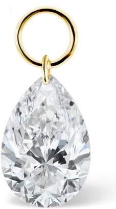 Maria Tash Pear Diamond Earring Charm